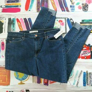 NWT Ella Moss High Rise Skinny Ankle Jeans 32